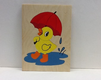 Duck Tray Puzzle