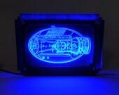 Mega Buster LED Light Art