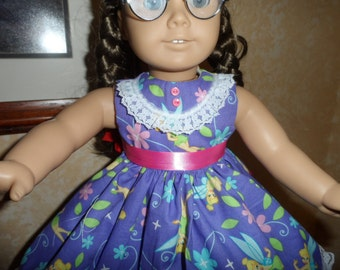 Favorite Fairy Purple Dress for American Girl Doll Clothes