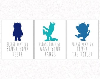 Where The Wild Things Are Monster Silhouette