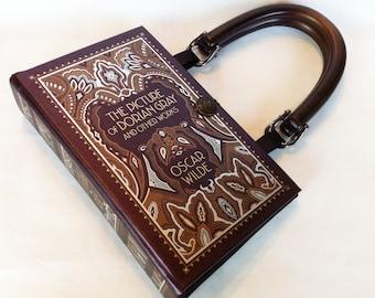 The Picture of Dorian Gray Book Purse - Oscar Wilde Book Purse - Irish Literary Gift - Dorian Gray Book Cover Handbag