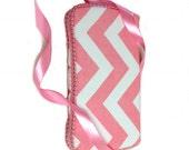 Pink Chevron Baby wipes case blush chevron baby gifts chevron diaper bag baby girl shower gift chevron diaper bag chevron baby gift