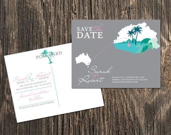 Fiji - Save the Date - Destination Wedding