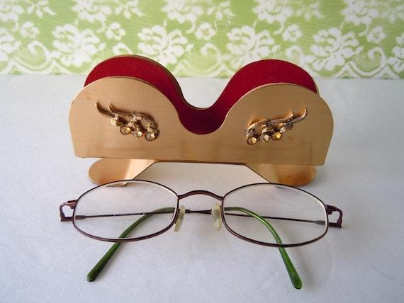 sale take 30 vintage eyeglass holder stand mid century