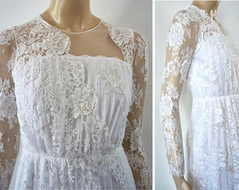 STEPHANIE French Vintage Wedding Dress
