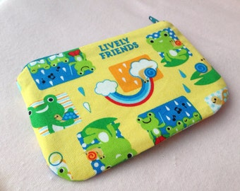 Lively friend Mini Zipper Pouch