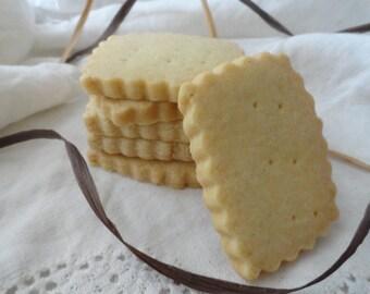 Vanilla Bean Shortbread Cookies