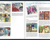 PDF Zine: Art Journaling Tutorial (3 blogposts rolled into 1)