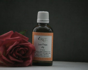 Love Potion NO.9 Massage Oil - Valentine Gift - Aromatherapy Massage Oil - Natural Massage Oil