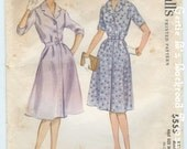 Vintage McCalls Dress Pattern 5555