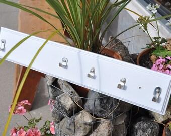 MINI Rad Spoon Handle Key Rack made from vintage flatware and reclaimed wood