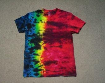 V Neck Crispy Summer Tie Dye Size XL