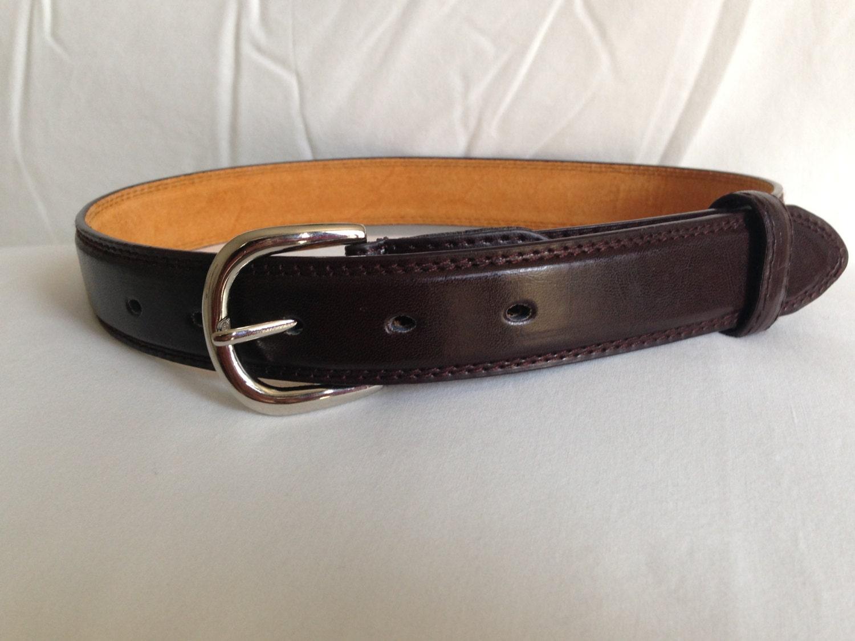 leather brown belt boys infant toddler
