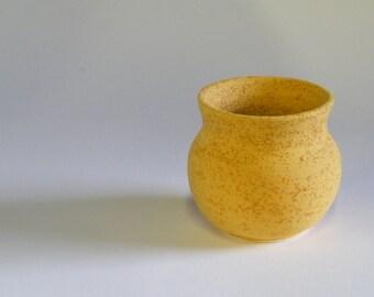 Autumn Gold Matt Glaze Bowl