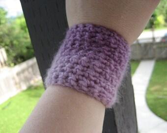 Purple Crocheted Wrist Cuff WCU/9/13