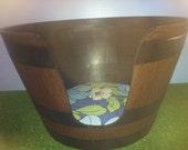 Wine Barrel Cat Bed