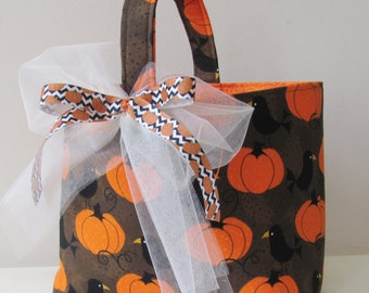 Trick or Treat Bag Halloween Basket