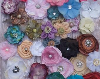Just EMBELLISHMENTS...Premium Selection..DIY baby headbands..DIY hair bows... bow supplies