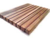 Wood Cutting Board - Handcrafted natural wood cutting board