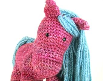 Horse Crochet Pattern - Pony Crochet Pattern - IAnimal Crochet Pattern - NSTANT DOWNLOAD