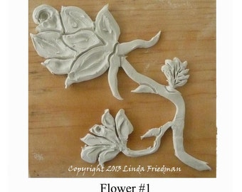 Stamp for Fabric - Flower No. 1