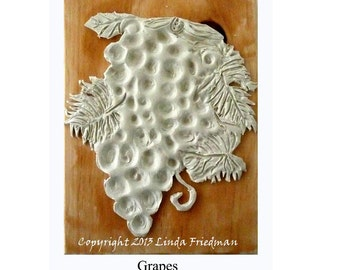 Stamp for Fabric - Grapes