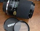 vintage camera lens  ... CARSEN OLYMPUS mount f 135 mm 1:4 2.8 LENS ...