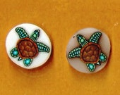 CLEARANCE: Polymer Translucent Sea Turtle Clay Cane Canes Raw