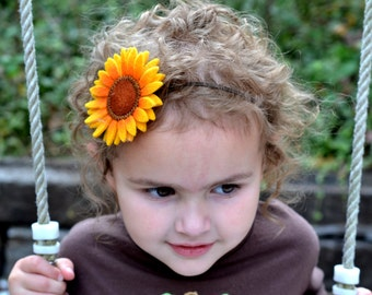Sunflower Stretch Headband