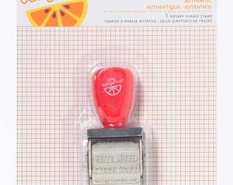 Authentic - Sketchbook -- Amy Tangerine - Stamp
