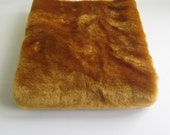 Short Pile Ginger Fur fabric