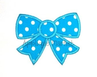 Machine Embroidery Design Applique Bow 2 INSTANT DOWNLOAD