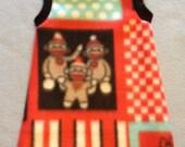 Sock Monkey Patch - Sphynx Body Sock Cat Clothes