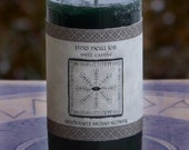 FIND NEW JOB Signature Spell Candle by Witchcrafts Artisan Alchemy