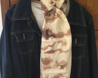 Hand Dyed Scarf - Cool Back to School Fashion
