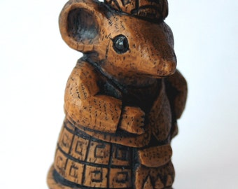 Church Mouse - Scottish Highlander - Mouse Ornament