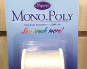 Superior Mono Poly Invisible Clear Thread