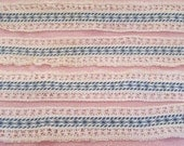 Retro Fabric and Cotton Trim 5 yards x 1 7/8 inches wide