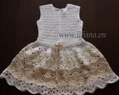 Crochet dress. PDF Pattern . No 84