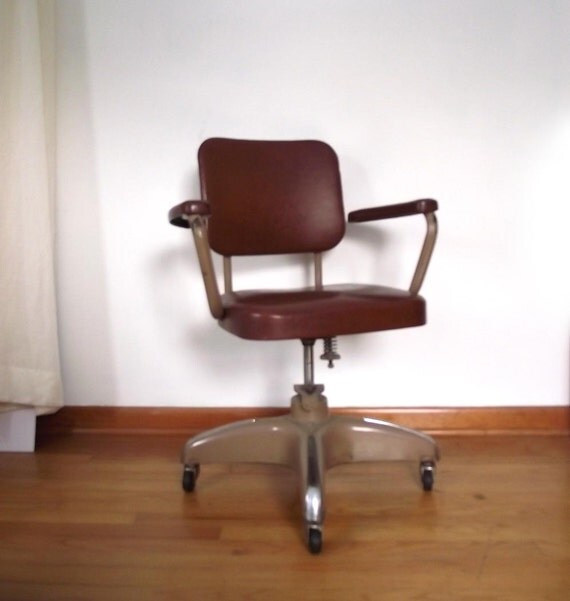 60s Office Chair Vintage Hamilton Cosco Chair