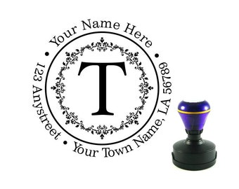 Personalized Self Inking Address Stamp - Return address stamp R114