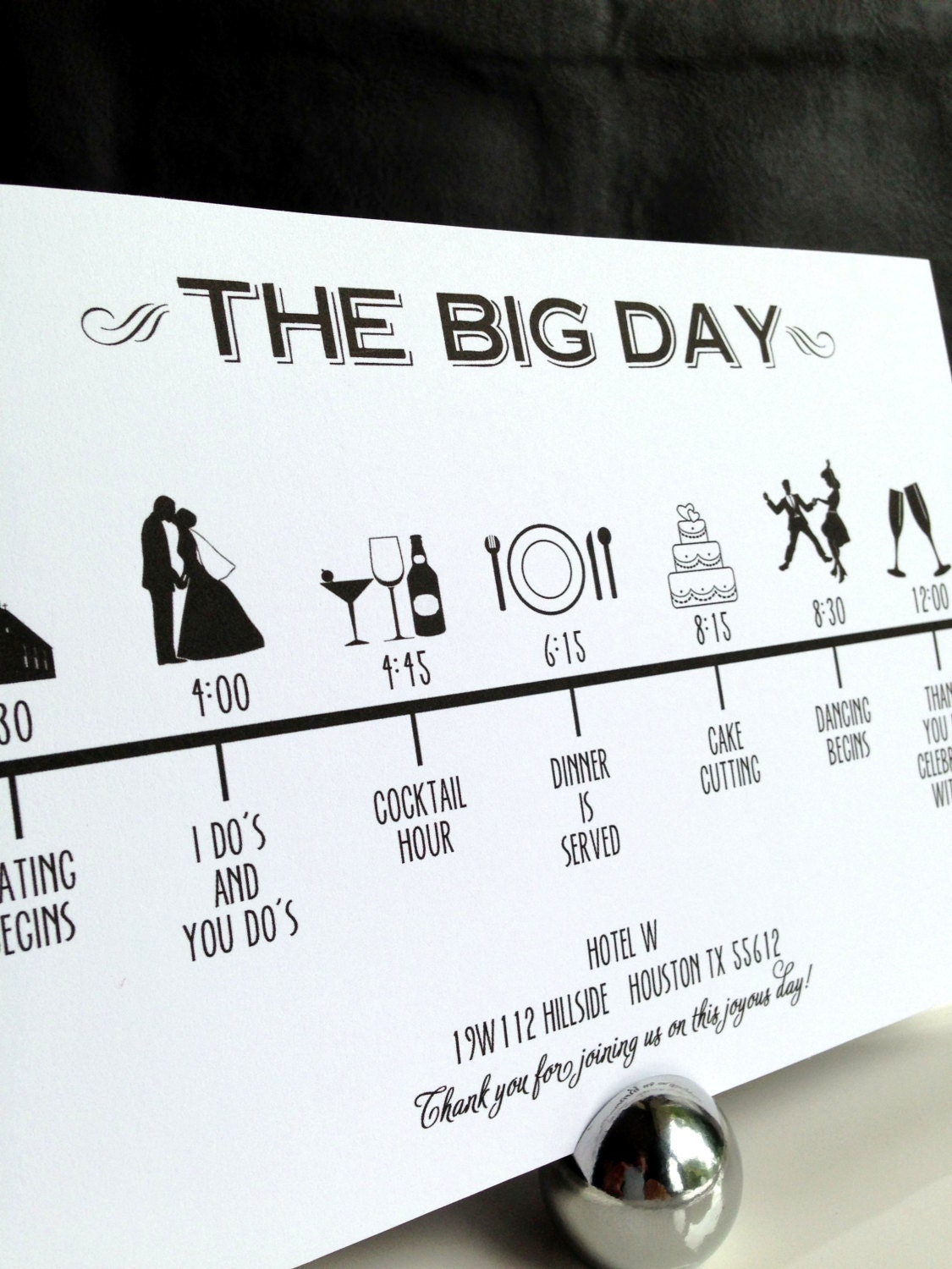 It is a picture of Impertinent Printable Wedding Timeline