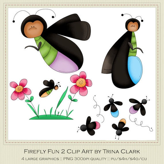 Cute Firefly Clipart Firefly fun 2 clip art by