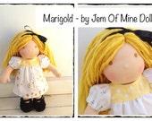 "SALE Marigold - 9"" Natural Doll"