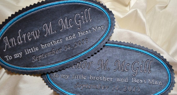Labels for Special Occassions - Labels to Conmmemorate Joyous Moments - Best Man - Wedding
