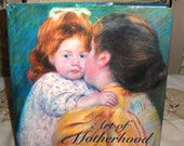 AWESOME and Just Beautifully Illustrated - Vintage Book - Art of Motherhood - 1970 Era