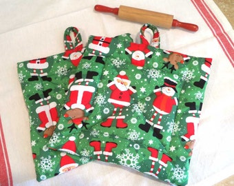 Christmas Hot Pad~ Set of Two