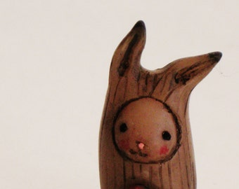 Bibbit's Heart  - Lisa Snellings - Hand sculpted