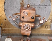 Little Steampunk robot S5
