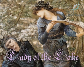Lady of the Lake - Limited Edition perfume oil - 5ml Blue lotus, clear water, water weeds, blue musk and pear